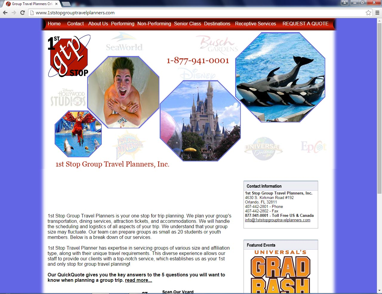 Orlando Website Design Sample 1