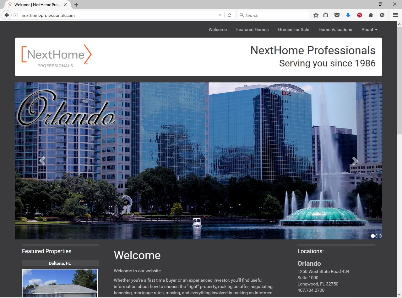 Orlando Website Design Sample 10