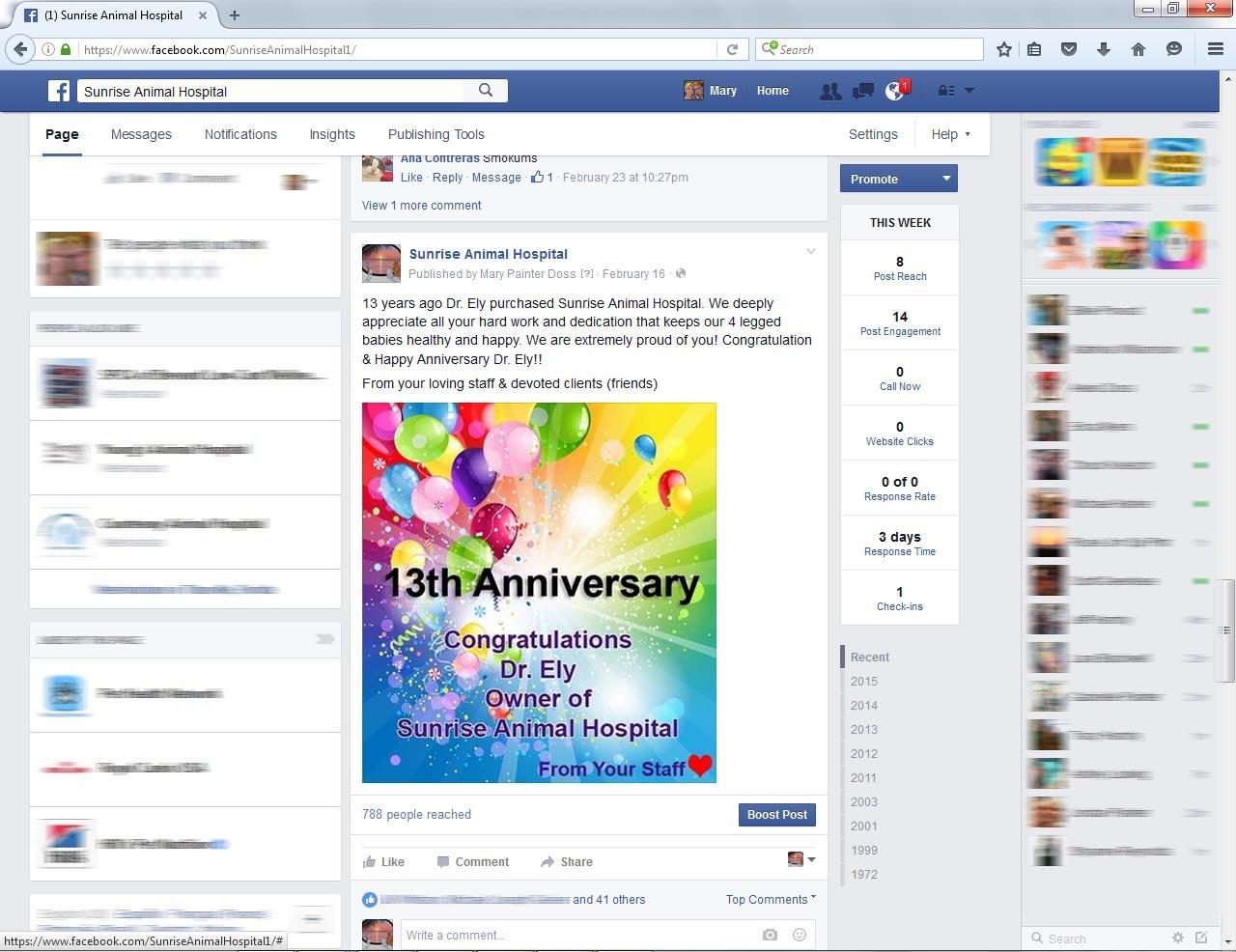 Social Media Example1